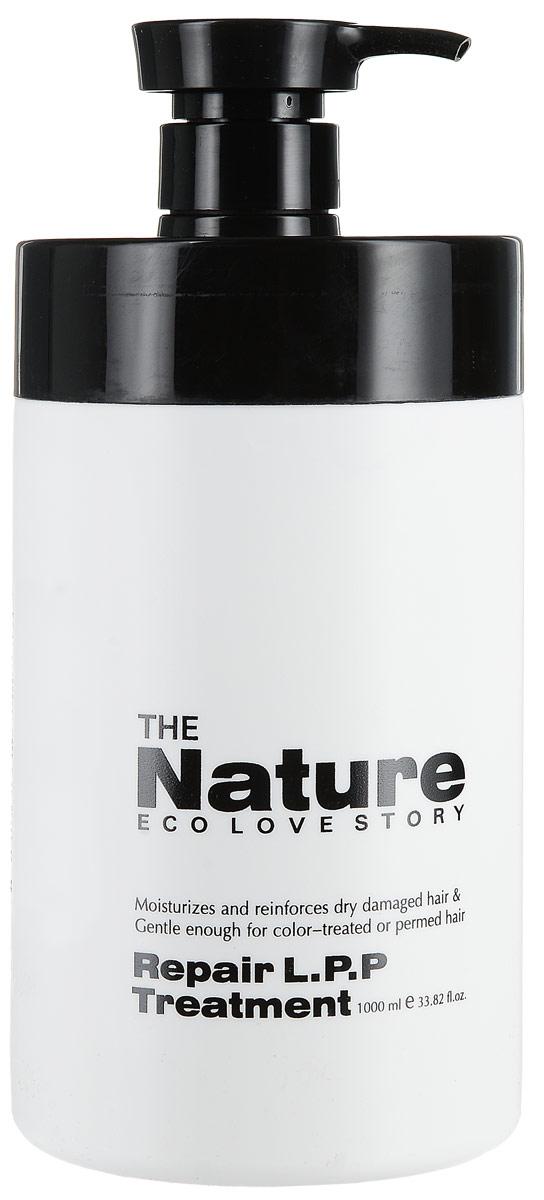 The Nature Eco Love Story Глубоко восстанавливающая маска, 1000 мл.048168Глубоко восстанавливающий крем для окрашенных и поврежденных волос. Увлажняет, питает, восстанавливает блеск. Может использоваться для ежедневного домашнего ухода.