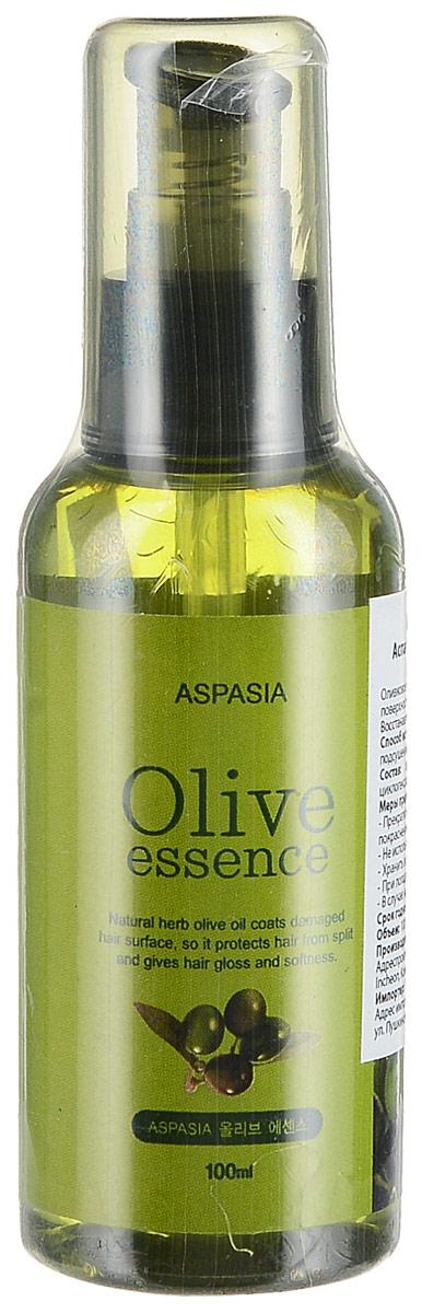 Aspasia увлажняющая эссенция для волос Оливка, 100 мл142929Оливковое масло способствует глубокому увлажнению, выравнивает поверхность волос, даря ощущение мягкости и шелковистости. Восстанавливает блеск. Глубоко питает от корней и до самых кончиков.