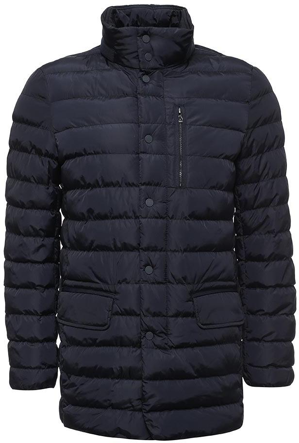 Куртка мужская Geox, цвет: темно-синий. M7428AT2422F4300. Размер 52M7428AT2422F4300