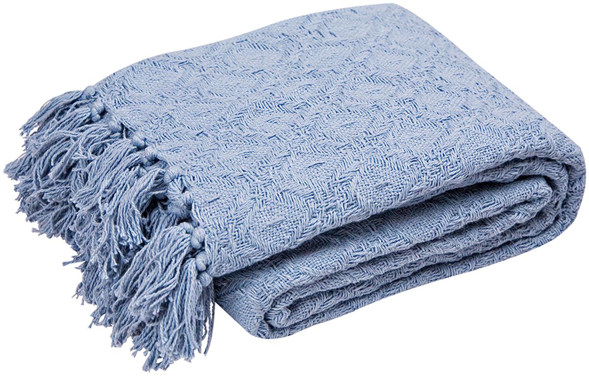 Покрывало Arloni Лайт, цвет: джинс, 220 х 240 см2039.6