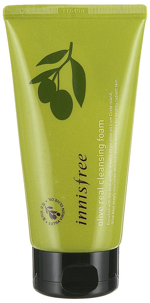 Innisfree Очищающая пенка для умывания с экстрактом оливы, 150 мл500307Нежнейшая пенка для бережного очищения и увлажнения лица, содержит 88% натуральных компонентов. С комплексом оливы, камелии,орхидеи,опунции.Увлажняющая пенка для умывания с экстрактом и маслом оливы сделана из органического сырья. Содержит натуральные экологически чистые ингредиенты. Экстракт и масло оливы способствуют глубокому увлажнению и питанию кожи, поэтому эта пенка может использоваться для склонной к сухости кожи. Мягкая пенка тщательно удалит макияж и загрязнения, глубоко очищает поры. Благодаря замечательному составу, обогащенному высококачественным оливковым маслом из специальным образом органически выращенных оливок, пенка богата антиоксидантами и витаминами, положительно влияющими на оздоровление кожи лица.