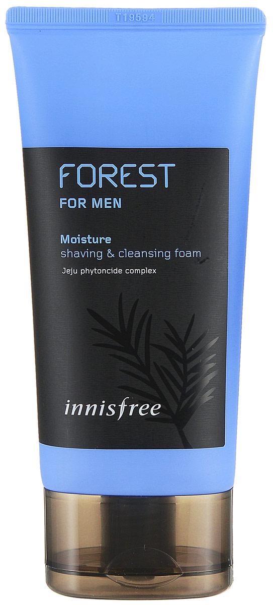 Innisfree Пенка для бритья и умывания с экстрактом лесных трав, мужская линия, 150 мл - Мужские средства для бритья и уход за бородой