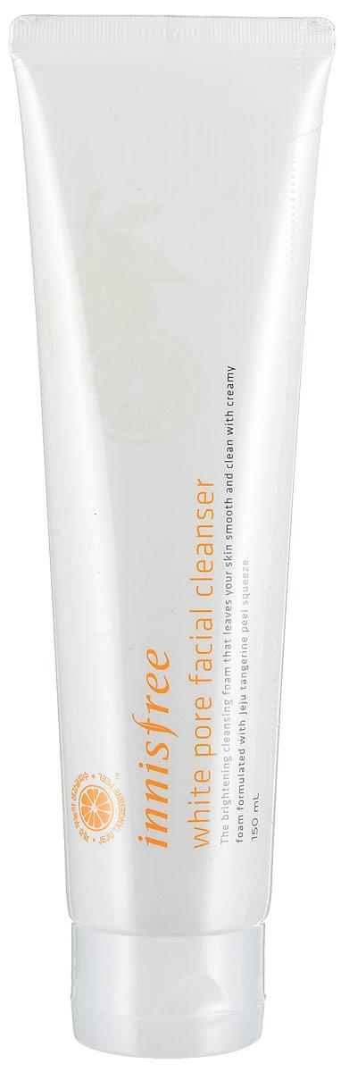 Innisfree Осветляющая пенка для лица, 150 мл545520Новинка в осветляющей линейке Innisfree, пенка для умывания White Pore Facial Cleanser для яркой, сияющей и ровной кожи. Линейка эффективно отбеливает кожу, осветляет пигментные пятна и постакне, выравнивает тон и текстуру кожи, сужает расширенные поры и делает кожу более ровной и однородной.
