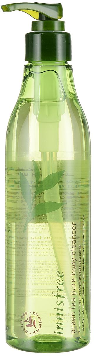 Innisfree Гель для душа зеленый чай, 300 мл574957Парфюмированный гель для душа зарядит вас энергией и подарит несколько минут удовольствия! Прекрасно увлажняет и очищает кожу, питает и насыщает кожу полезным микроэлементами. Входящие в состав листья зеленого чая собираются только на экологически чистых полях острова Чечжудо - заповедной территории острова-вулкана.