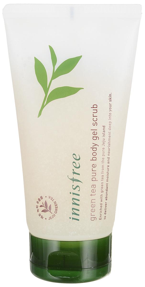 Innisfree Гель-скраб для тела зеленый чай, 150 мл57493383% элементов природного происхождения. Мягко отшелушивает отмершие клетки, прекрасно очищает, глубоко питает и увлажняет кожи. Способствует повышению упругости.