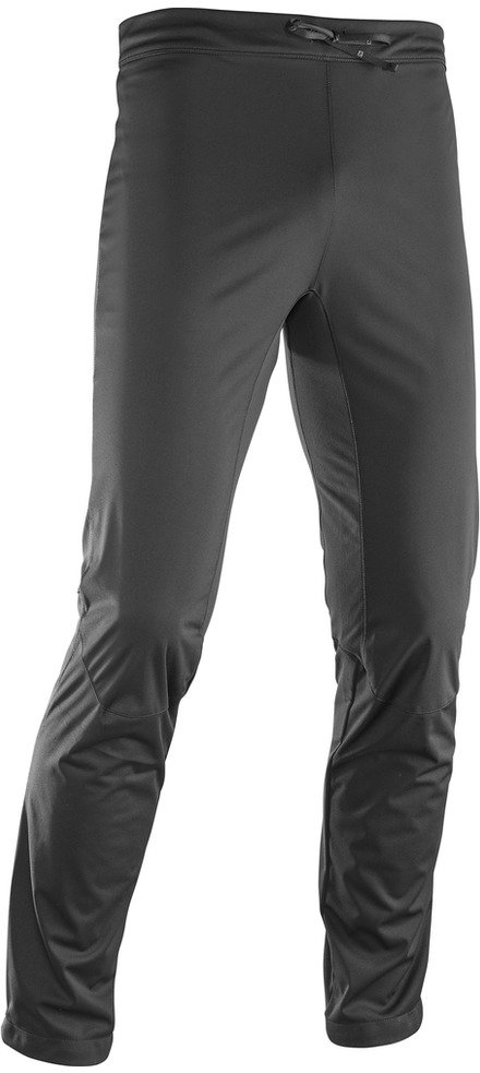 Брюки спортивные мужские Salomon RS Softshell Pant M, цвет: черный. L39713600. Размер XXL (60)L39713600Облегающие брюки RS SOFTSHELL PANT имеют плоский пояс, который не мешает при переноске рюкзака, защищают от ветра при небольшом весе и не стесняют свободу движений.