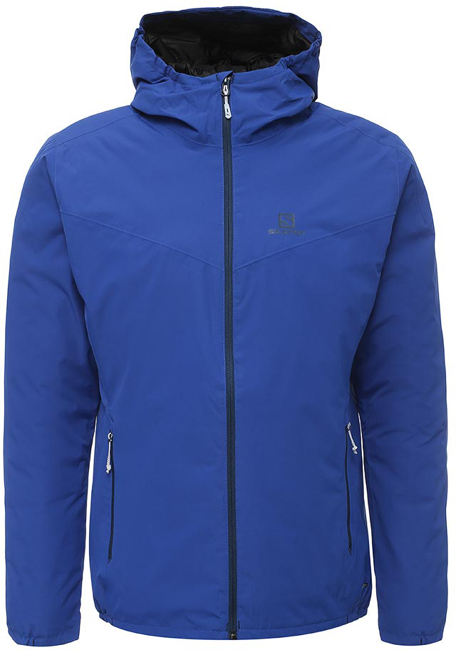 Куртка мужская Salomon Essential Insulated Jkt M, цвет: синий. L39697600. Размер XXL (60)  цена и фото