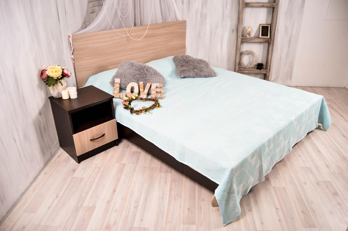 Покрывало Arloni Ромбики, цвет: голубой, 150 х 200 см9981-3ARLПокрывало Arloni Ромбики изготовлено из хлопка.Натуральный хлопковый материал мягкий и приятный на ощупь. Можно использовать как легкое одеяло в жаркиедни или как покрывало на кровать. Покрывало Arloni не только подарит тепло, но и гармонично впишется в интерьер вашего дома.