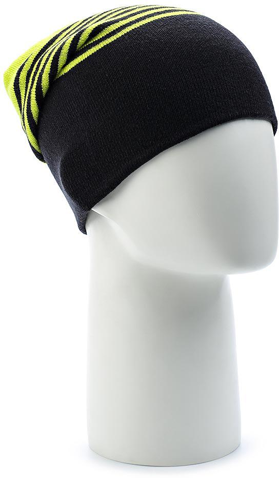 Шапка Salomon Flatspin Reversible Beanie, цвет: зеленый, черный. L39508400. Размер универсальныйL39508400Стильную длинную шапку Flatspin Reversible Beanie можно носить вывернутой наизнанку — идеальный выбор для любого лыжника. Выполнена из высококачественного материала.