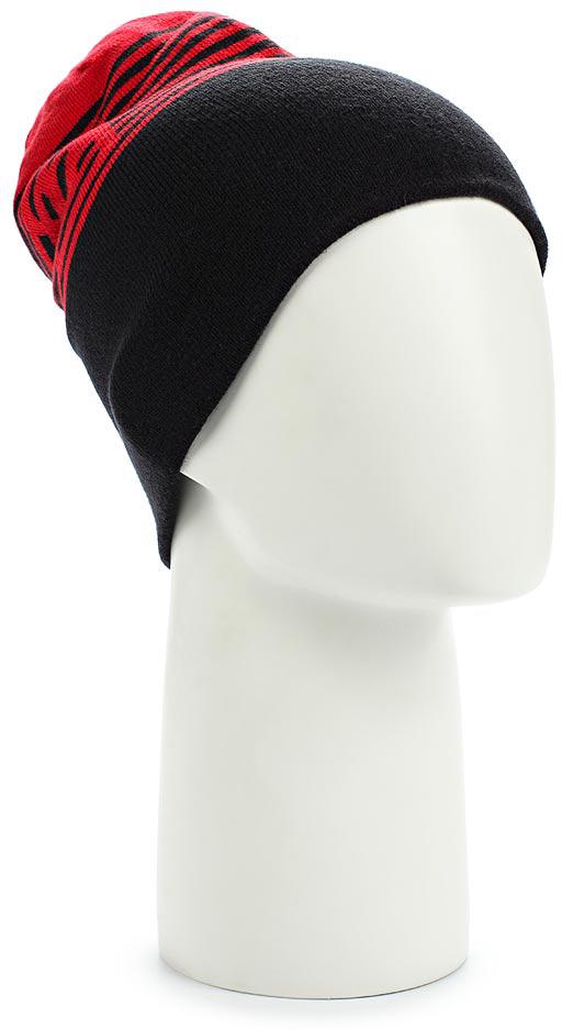Шапка Salomon Flatspin Reversible Beanie, цвет: красный, черный. L39508200. Размер универсальныйL39508200Стильную длинную шапку Flatspin Reversible Beanie можно носить вывернутой наизнанку — идеальный выбор для любого лыжника. Выполнена из высококачественного материала.