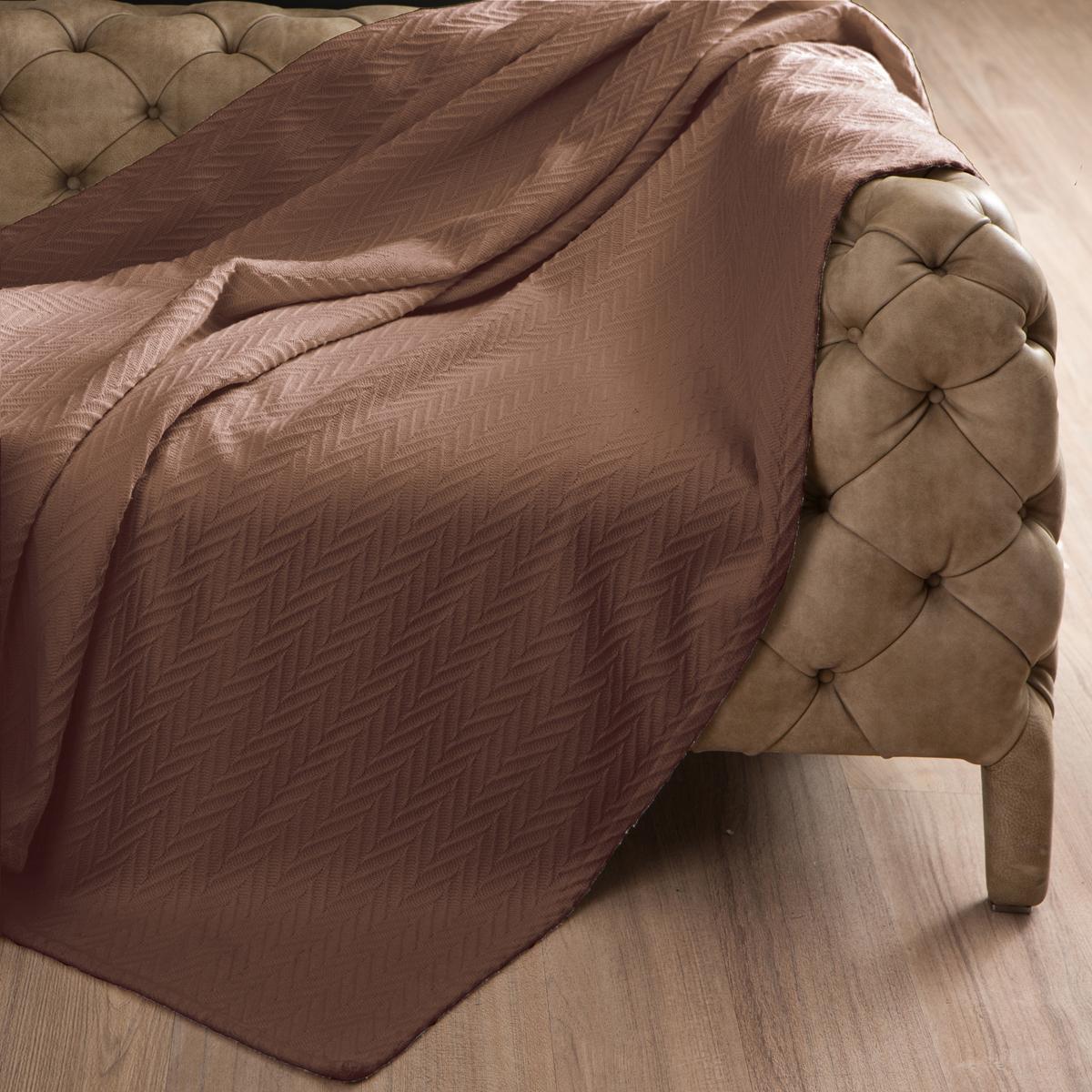 Покрывало Arloni Энджел, цвет: какао, 180 х 220 см2046.15