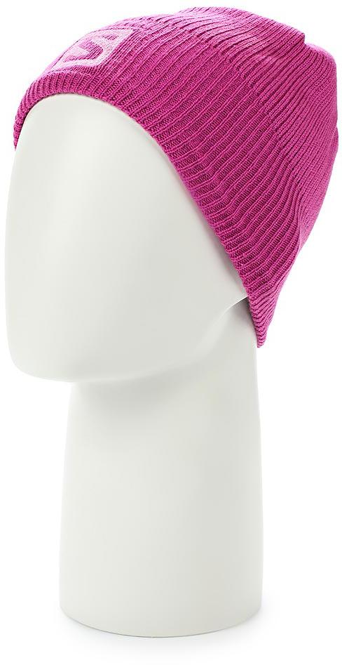 Шапка Salomon Logo Beanie, цвет: розовый. L39496800. Размер универсальныйL39496800Структурированная вязаная шапка LOGO BEANIE украшена вышитым цветным логотипом.