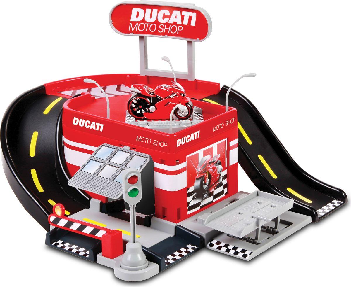 Maisto Игровой набор Ducati Moto Shop купить маленький дрон