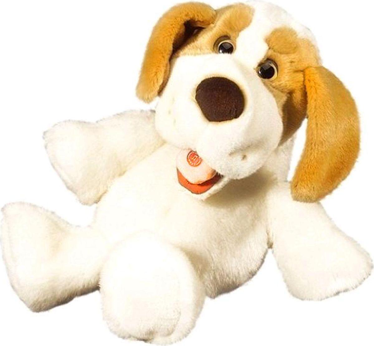 Bauer Кукла на руку Собака цвет белый, коричневый - Игрушки для малышей