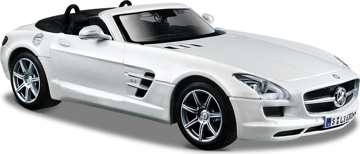 Maisto Модель автомобиля Mercedes-Benz SLS AMG Roadster bburago модель автомобиля mercedes benz sls amg roadster
