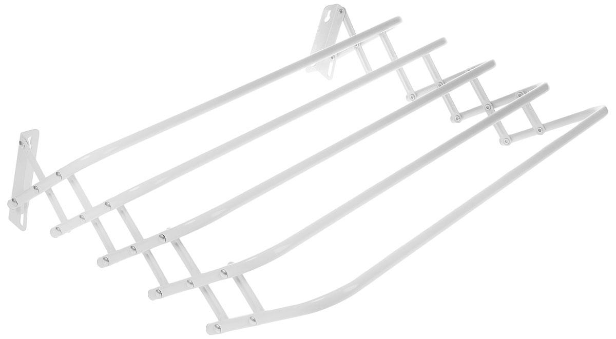 Сушилка для белья настенная ЗМИ Бриз, раздвижная, 0,6 м brabantia комплект бельевой веревки 12 м белый