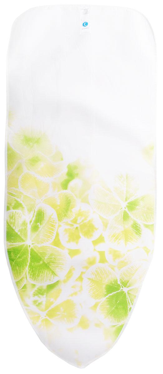 Чехол для гладильной доски Brabantia  Perfect Fit , цвет: зеленый, белый, 124 х 45 см. 191480 - Гладильные доски
