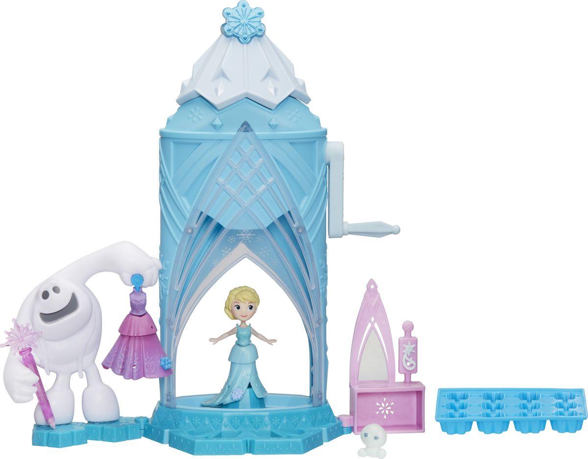 Disney Frozen Игровой набор с куклой Замок Эльзы Сделай волшебный снег disney frozen игровой набор с куклой замок эльзы сделай волшебный снег