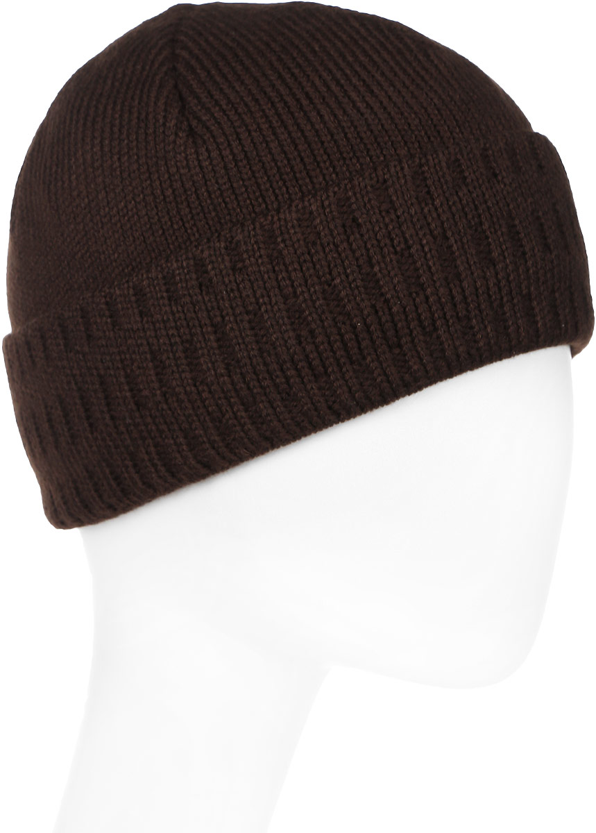 Шапка мужская Marhatter, цвет: коричневый. Размер 57/59. MMH6233/2MMH6233/2Замечательная шапка, выполнена из теплого комфортного материала. Идеальный вариант на каждый день.
