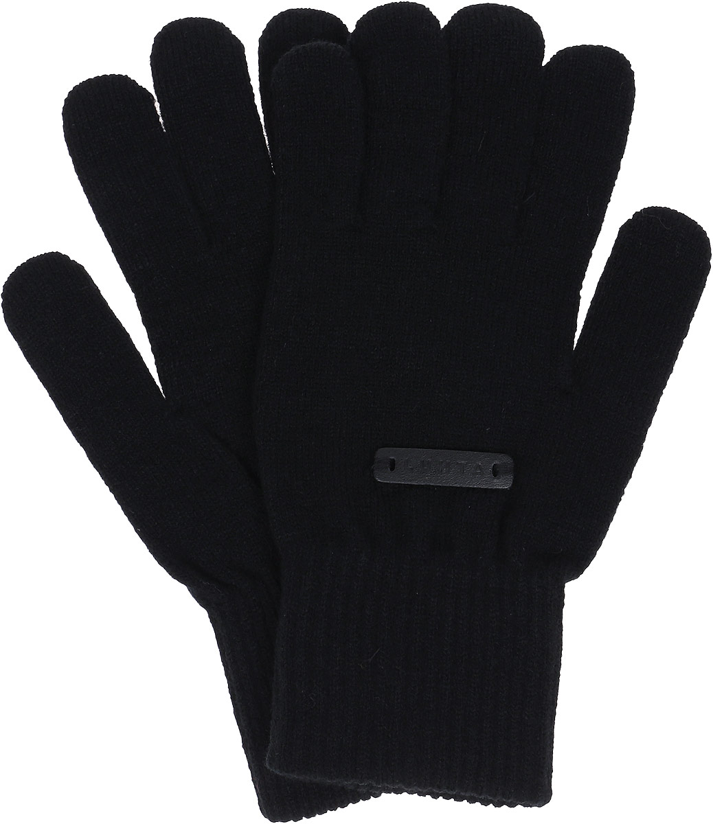 Перчатки мужские Luhta, цвет: черный. 838665618LV-990. Размер L (8/8,5)838665618LV-990