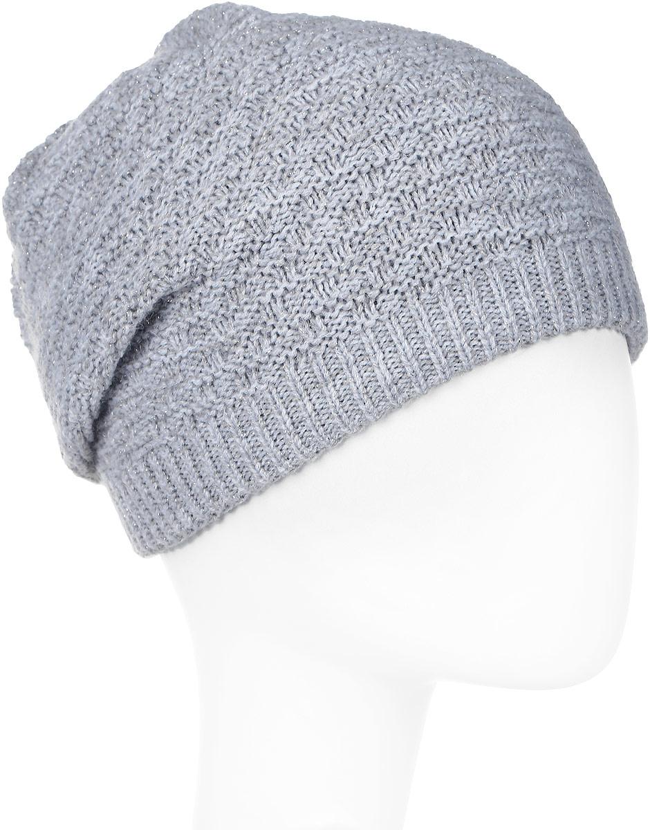 Шапка женская Snezhna, цвет: светло-серый. SWH6775/3. Размер 56/58SWH6775/3Отличная шапка-колпак Snezhna добавит уникальность вашему образу. Данная модель мягкая и комфортная на ощупь. Модель на флисе.Уважаемые клиенты!Размер, доступный для заказа, является обхватом головы.
