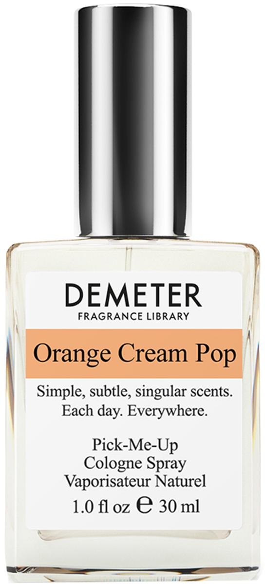 Demeter Fragrance Library Духи-спрей Апельсиновое эскимо (Orange cream pop), женские, 30 млDM01037Ни для кого не секрет, что эскимо - это такое мороженое на деревянной палочке. В этой связи, Demeter может гордиться тем, что в духах Апельсиновое эскимо есть не только свежий апельсин и ванильное мороженое, но и потрясающий аромат вот этой деревянной палочки. Такой сложный и одновременно легкий парфюм стоит иметь у себя в коллекции.Способ применения: нанести на сухую, чистую кожу. На точки пульса, волосы, одежду.Духи считаются самым изысканным видом парфюмерной продукции и содержат самый большой процент ароматической композиции (от 15% до 30% и более), растворенной в очень чистом спирте (96% об.). Высокое содержание экстракта обеспечивает духам большую стойкость и силу по сравнению с другими видами парфюмерных товаров. Всего лишь пары капель достаточно для того, чтобы запах держался в течение 5 и более часов.Товар сертифицирован.