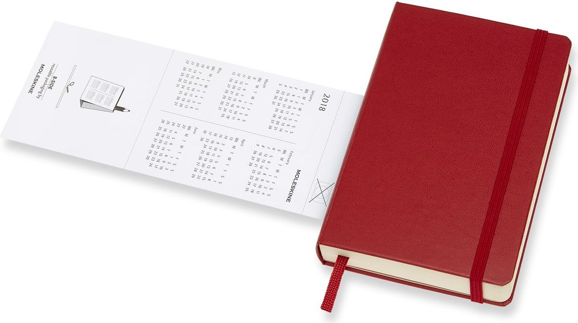MoleskineЕжедневник Classic Pocket 200 листов в линейку цвет красный Moleskine
