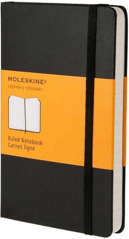 Moleskine Записная книжка Classic Pocket 96 листов в линейку цвет черный записная книжка мой шоппинг 96 листов