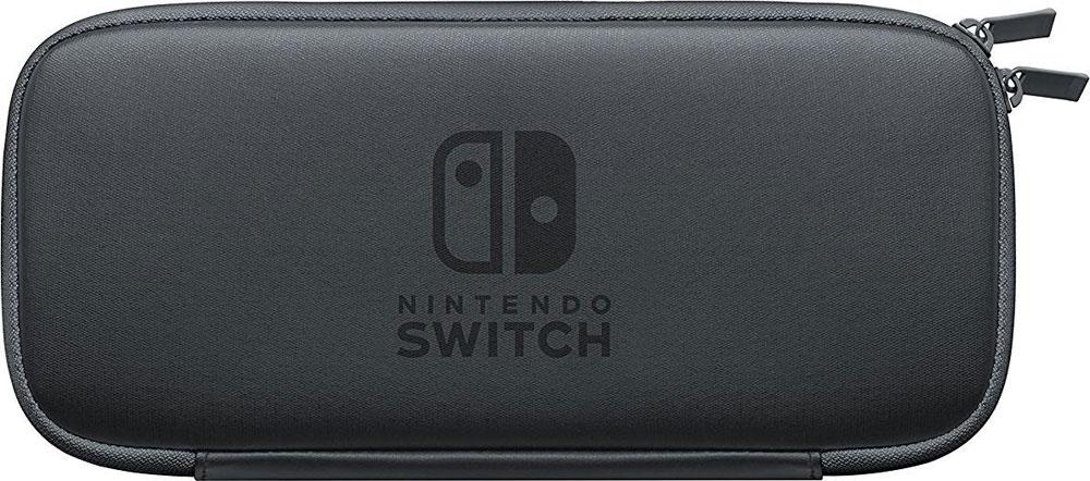 Nintendo ACSWT3 чехол и защитная пленка для SwitchACSWT3Носите свою систему Nintendo Switch в специальном чехле! Особое покрытие изнутри будет поддерживать систему в чистоте, а защитная плёнка защитит экран от царапин.