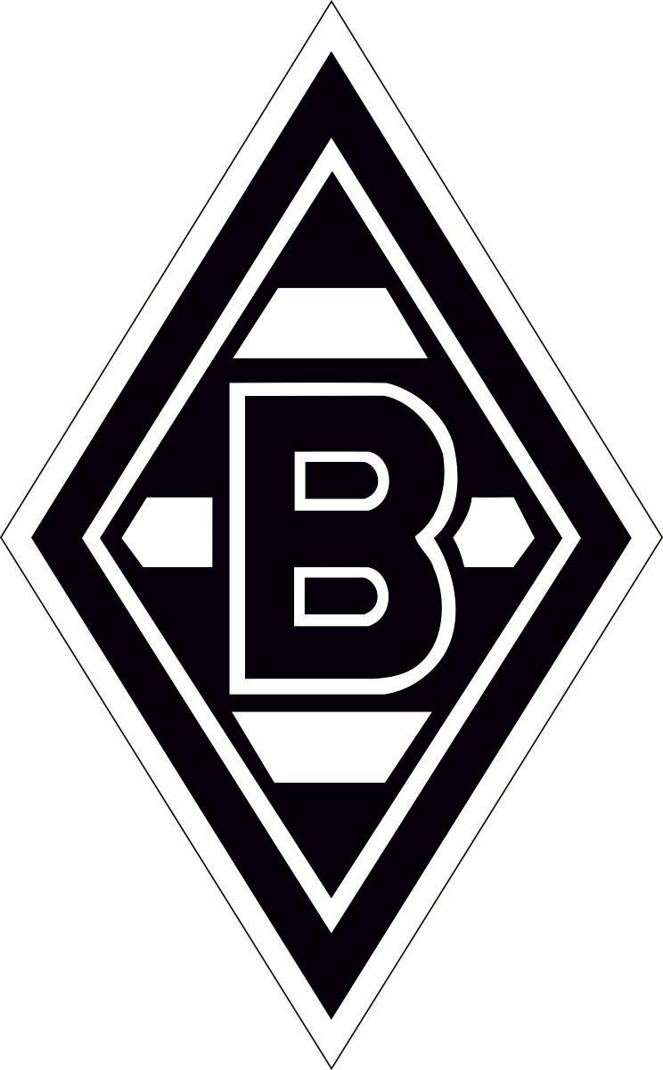 Наклейка автомобильная Оранжевый слоник Borussia-Moen-Chengladbach, виниловая наклейки интерьерные оранжевый слоник легкосъемная наклейка коты 1