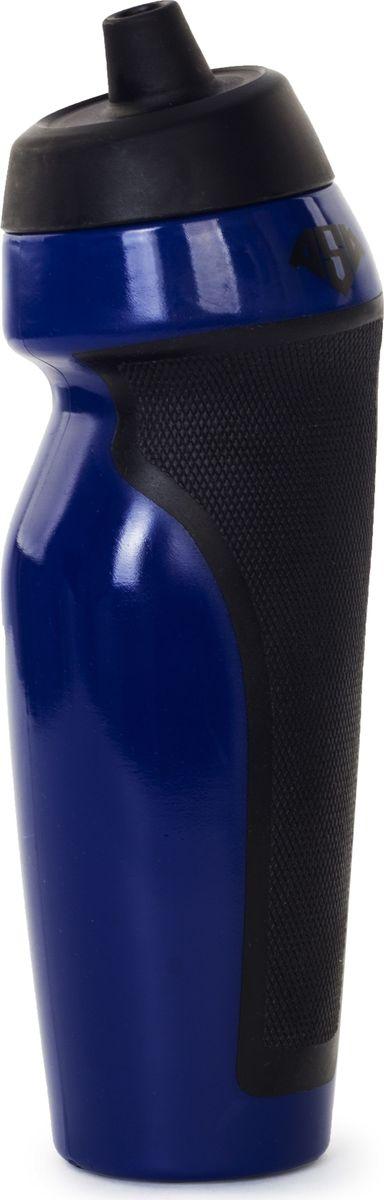 Бутылка спортивная AS4, цвет: синий, 600 мл349824Размер: 7 х 24 см Материал: пластик Дополнительно: при питье необходимо надавливать на бутылку