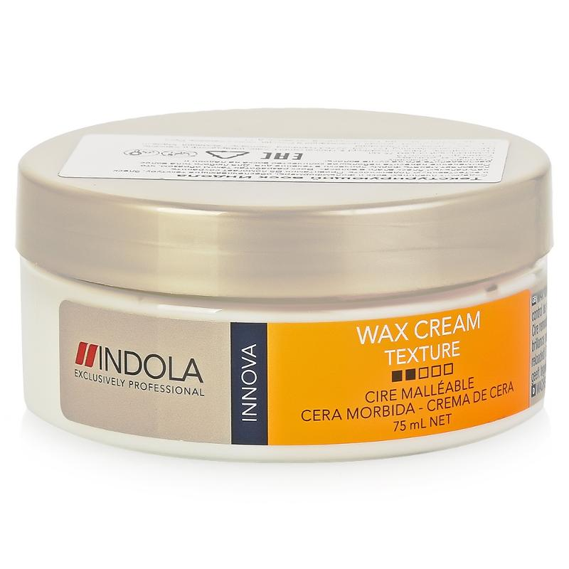 Indola Текстурирующий воск Texture Soft Wax 75 мл1853588Indola Текстурирующий воск. Содержит пчелиный воск и фильмформеры, обеспечивающие текстуру, блеск и естественную подвижность. Провитамин В5 помогает сохранить натуральный баланс влаги в волосах. Позволяет менять форму прически в течении дня. Предназначен для любого типа волос.