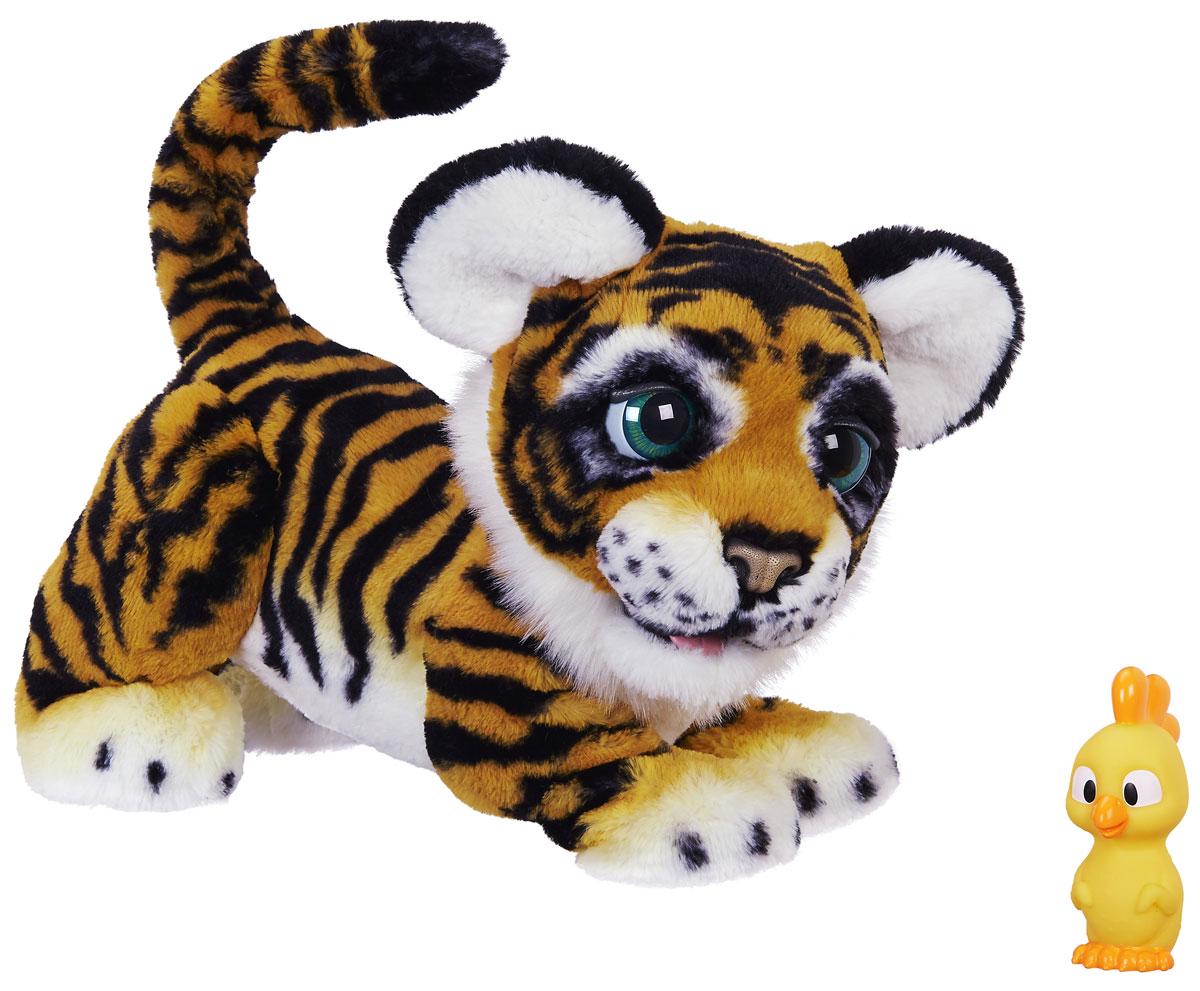 FurReal Friends Интерактивная игрушка Рычащий Амурчик Игривый Тигренок интерактивная игрушка котенок furreal