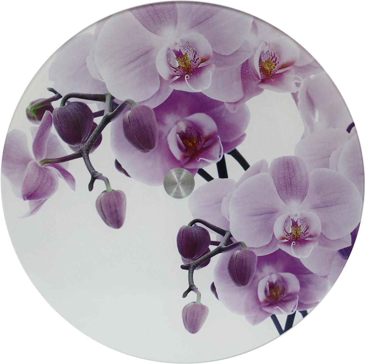 Вращающееся блюдо Vilarty Орхидея, для тортаАР-ВБТ01С