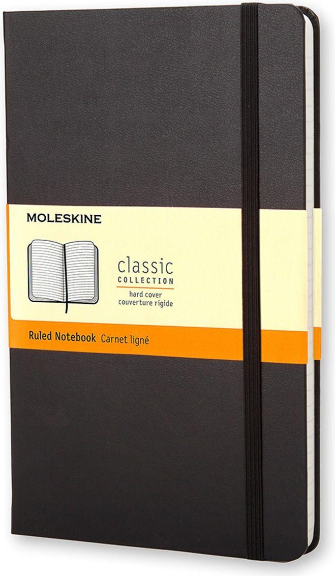 Фото Moleskine Записная книжка Classic Large 120 листов в линейку цвет черный