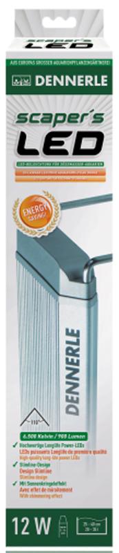 Светильник Dennerle Scapers LED, энергосберегающий, для пресноводных аквариумов 25-40 см, 12 ВтDEN6030Dennerle Scapers LED - Энергосберегающий светодиодный светильник для пресноводных аквариумов 25-40 см, 12 Вт