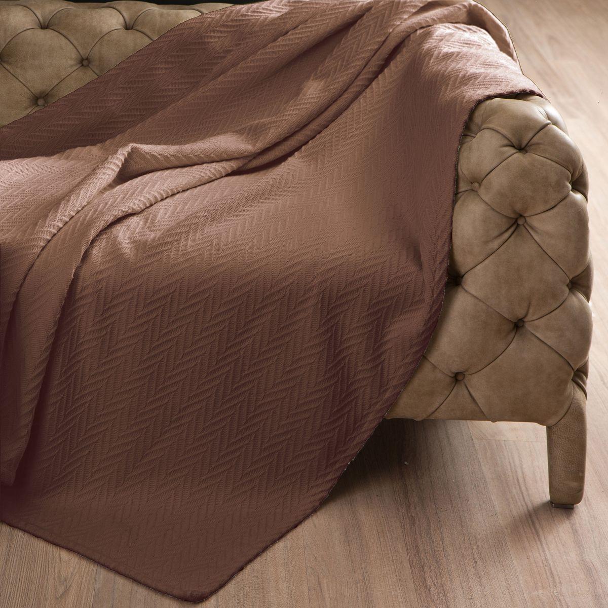 Покрывало Arloni Энджел, цвет: какао, 220 х 240 см скатерть arloni arloni mp002xu0du48