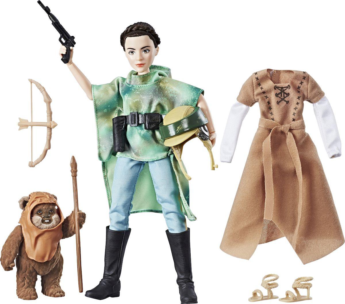 Star Wars Игровой набор с куклой Планета Эндор star wars игровой набор resistance x wing & resistance pilot