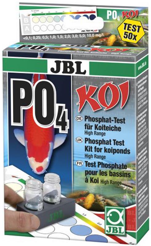 Высокочувствительный тест для определения содержания фосфатов в прудовой воде JBL PO4 Phosphat Test-Set KOIJBL2802100Высокочувствительный тест для определения содержания фосфатов в прудовой воде JBL PO4 Phosphat Test-Set KOI.Основные свойства:Тест рассчитан на более высокие значения (до 10,0 мг/л) из-за более высокой кормовой нагрузки на пруды с карпами кои.Всего два реагента для быстрых и простых измерений.Шкала: В комплекте: компараторная система, цветная таблица, шприц, 2 стеклянных кюветы и мерная ложечка.На 50 измерений.