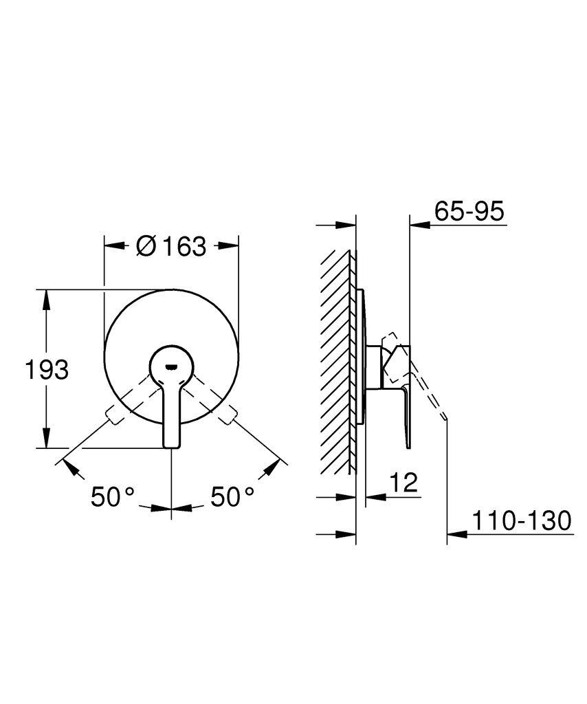 """Однорычажный смеситель для душа GROHE Lineare - элегантный современный дизайн и премиальное качество.   Привлекательный минималистичный дизайн и передовые технологии! С его выдающейся округлой формой и четкой металлической прямоугольной рукояткой, этот однорычажный смеситель для душа GROHE Lineare будет прекрасно смотреться в современной ванной комнате.  Благодаря керамическому картриджу GROHE SilkMove, который встроен во внутренний механизм смесителя, управление температурой и напором воды осуществляется легко и точно. Устойчивое к царапинам матовое покрытие в цвете """"суперсталь"""" надежно и долговечно.   Смеситель прекрасно подойдет к другим продуктам коллекции, что позволит вам создать гармоничный дизайн ванной комнаты."""