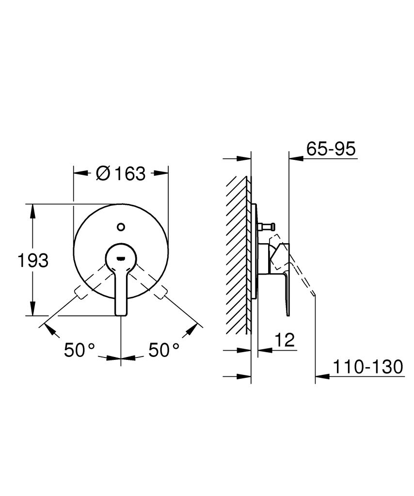 Вневременной дизайн и премиальное качество - смеситель для ванны Grohe Lineare. Минималистичный дизайн встречается с инновационными технологиями! С его  гладкой округлой формой и четкой прямоугольной ручкой, внешняя панель  однорычажного смесителя Grohe Lineare просто прекрасно смотрится в  современной ванной комнате. Для установки и правильной работы смесителя вам  также понадобится встраиваемая часть Grohe Rapido E (35501000), что создаст  идеальное сочетание формы и функциональности. С ним принимать душ также  просто, как переключиться с излива на ручной душ с помощью автоматического  переключателя. Благодаря керамическому картриджу Grohe SilkMove управление  напором и температурой воды осуществляется точно и просто. Ослепительное  покрытие Grohe StarLight, устойчивое к царапинам, сохранит свой блеск на  долгие годы.  Этот элегантный смеситель прекрасно сочетается с другими  продуктами коллекции, что позволит вам создать гармоничный и  сбалансированный дизайн ванной!