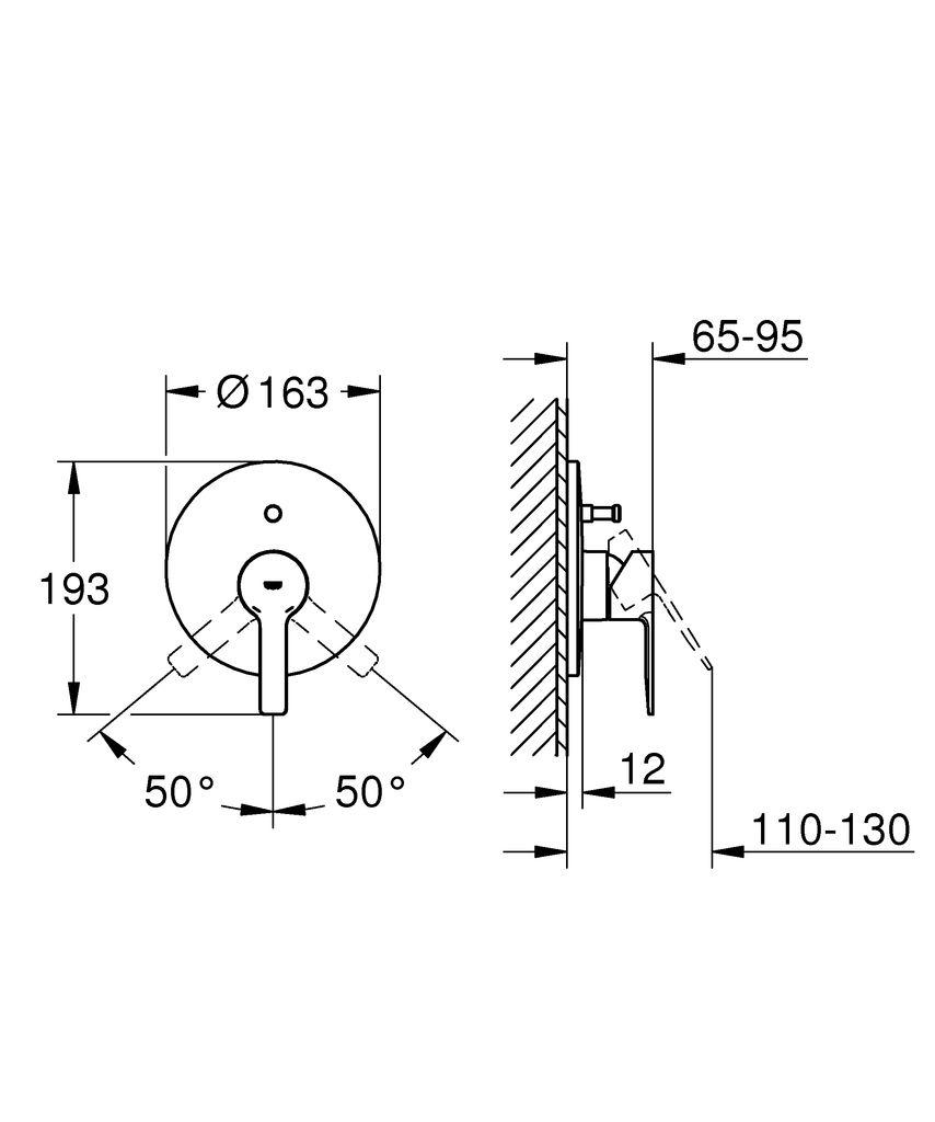 """Вневременной дизайн и премиальное качество - смеситель для ванны GROHE Lineare настенного монтажа.   Привлекательный минималистичный дизайн и передовые технологии! С его выдающейся округлой формой и четкой металлической прямоугольной рукояткой, этот однорычажный смеситель для душа GROHE Lineare будет прекрасно смотреться в современной ванной комнате.  Принять душ с этим смесителем проще простого благодаря автоматическому переключателю между ванной и душем. Благодаря керамическому картриджу GROHE SilkMove, который встроен во внутренний механизм смесителя, управление температурой и напором воды осуществляется легко и точно.   Устойчивое к царапинам матовое покрытие в цвете """"суперсталь"""" надежно и долговечно."""