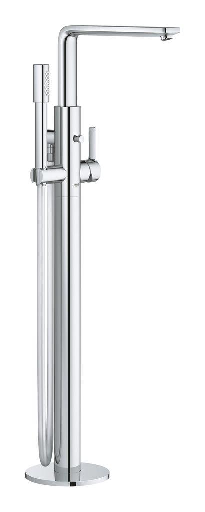 Смеситель для раковины Grohe Lineare New. 2379200123792001напольный монтажкомплект верхней монтажной части для45 984без встроенного механизмаGROHE SilkMove керамический картридж 35 ммс ограничителем температурыGROHE StarLight хромированная поверхностьавтоматический переключатель: ванна/душизлив с аэраторомвынос 271 ммвстроенный обратный клапан в душевом отводе 1/2держатель ручного душаручной душ Sena (28 034 000)душевой шланг Silverflex 1.250 мм (28 362 000)с защитой от обратного потокаминимальное давление 1,0 бар
