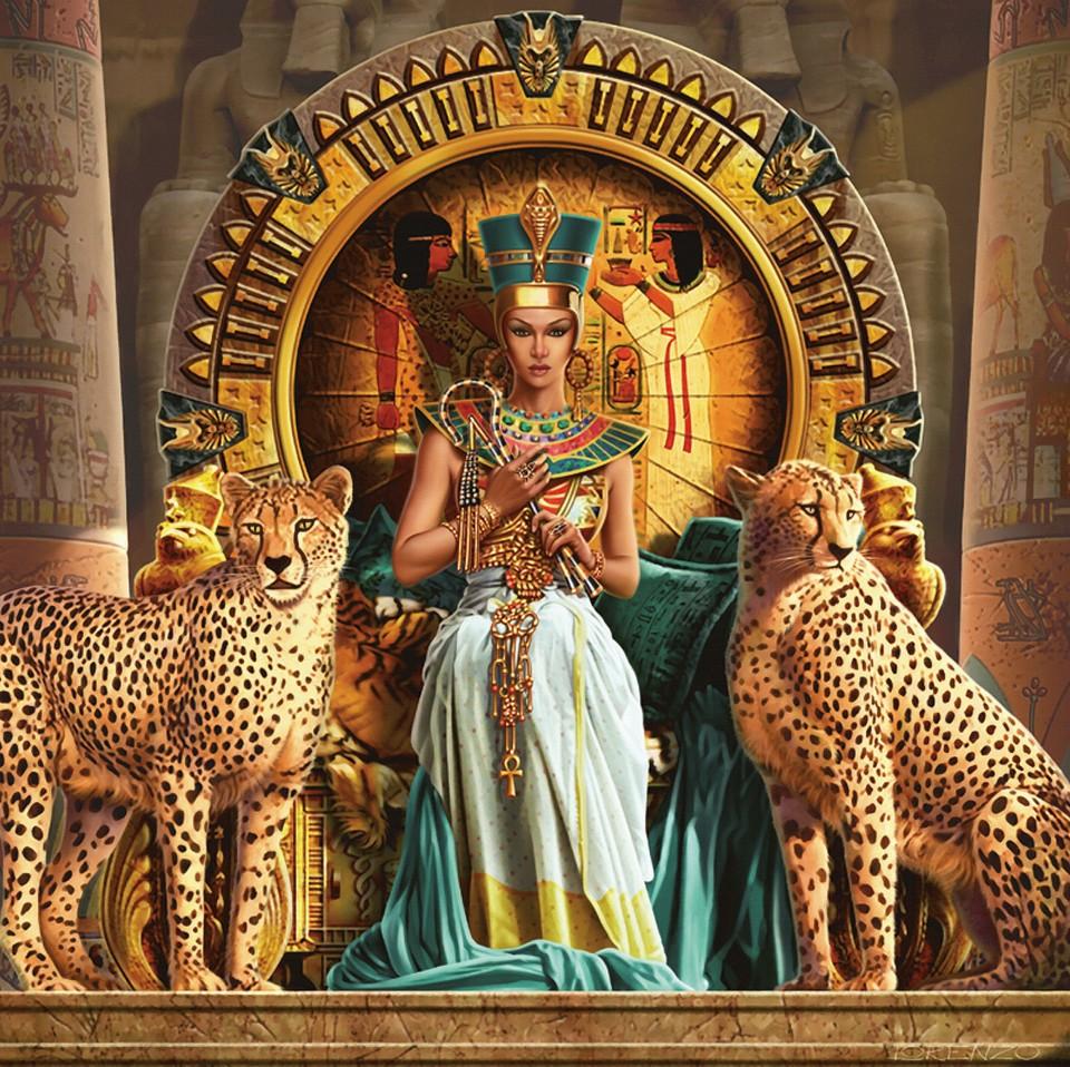 Наволочка декоративная Рапира Царица Египта, 45 х 45 см. 2587 декоративные подушки santalino декоративная наволочка mignon 45х45