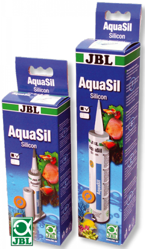 Силикон аквариумный JBL  AquaSil 80ml schwarz , цвет: черный, 80 мл - Аксессуары для аквариумов