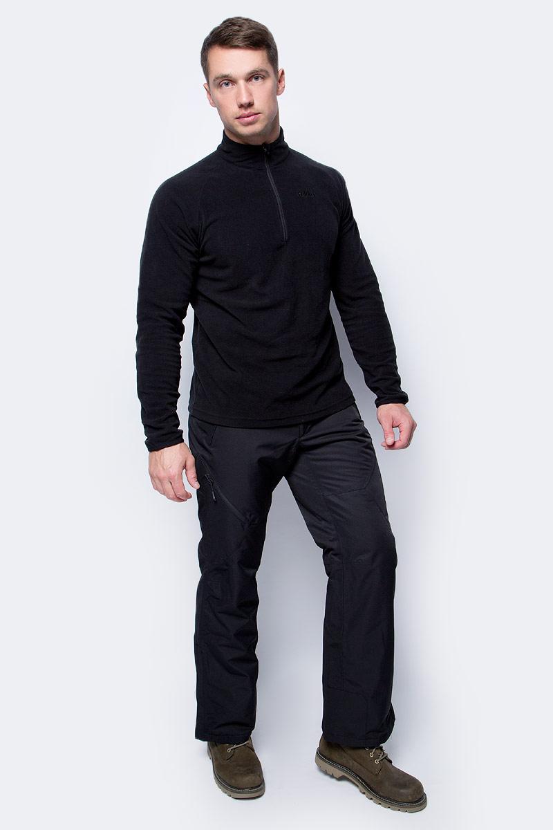 Брюки мужские Icepeak, цвет: черный. 857090659IV_990. Размер 52857090659IV_990Мужские брюки от Icepeak выполнены из полиэстера. Модель застегивается на пуговицу в талии и ширинку на молнии, имеются шлевки для ремня.
