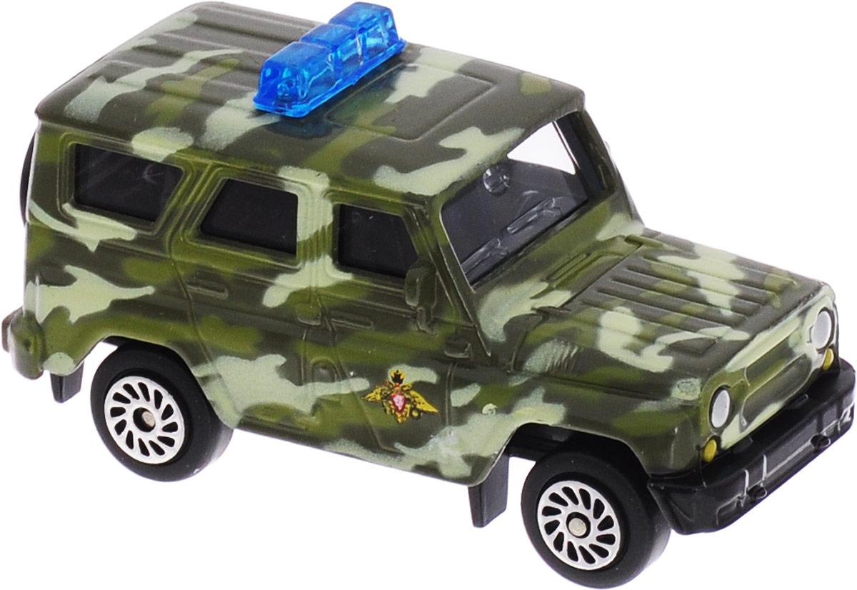 ТехноПарк Автомобиль UAZ Hunter ОМОН цвет зеленый технопарк автомобиль uaz hunter пожарная служба
