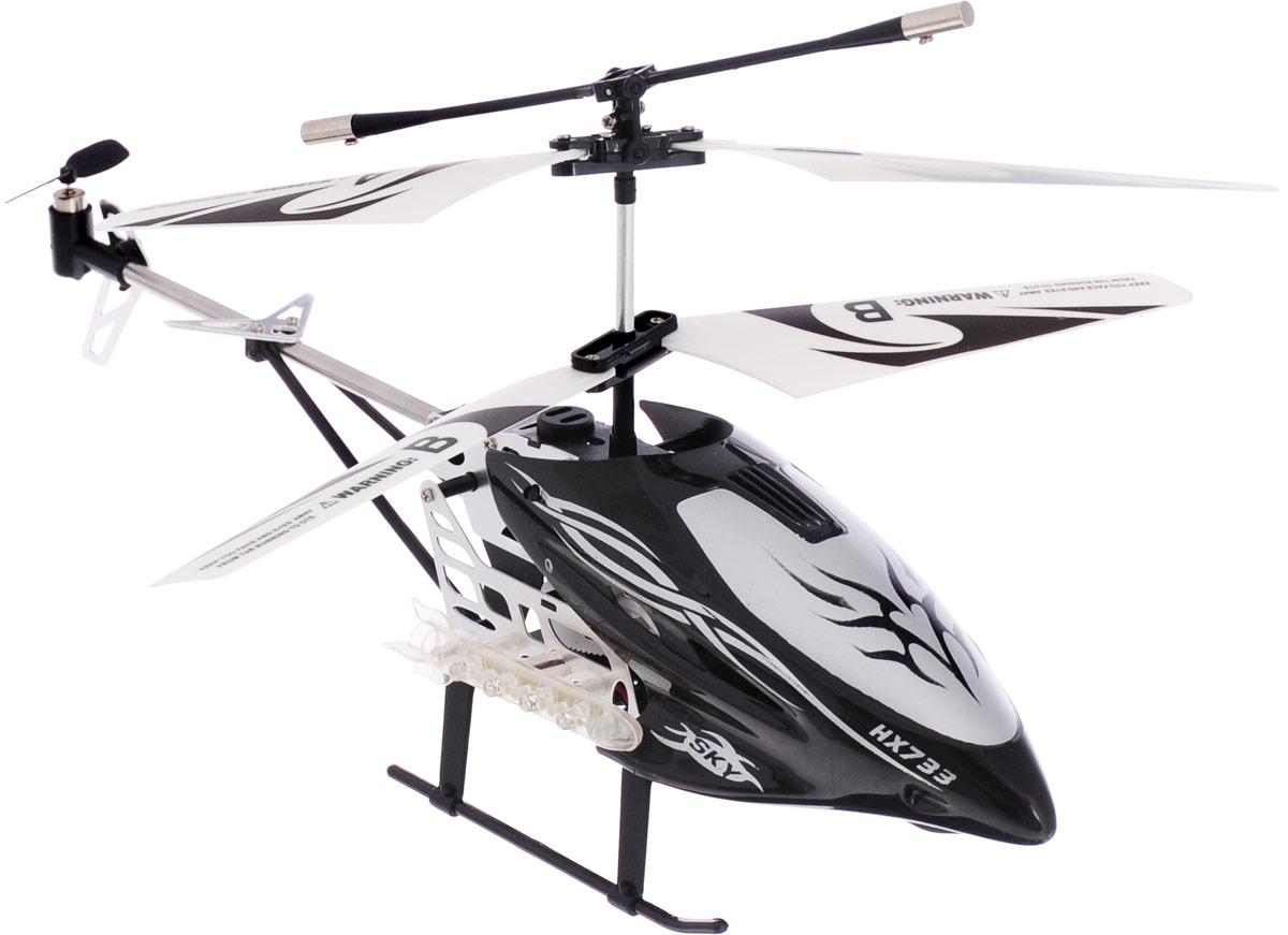 Mioshi Вертолет на радиоуправлении Tech IR-530 цвет черный