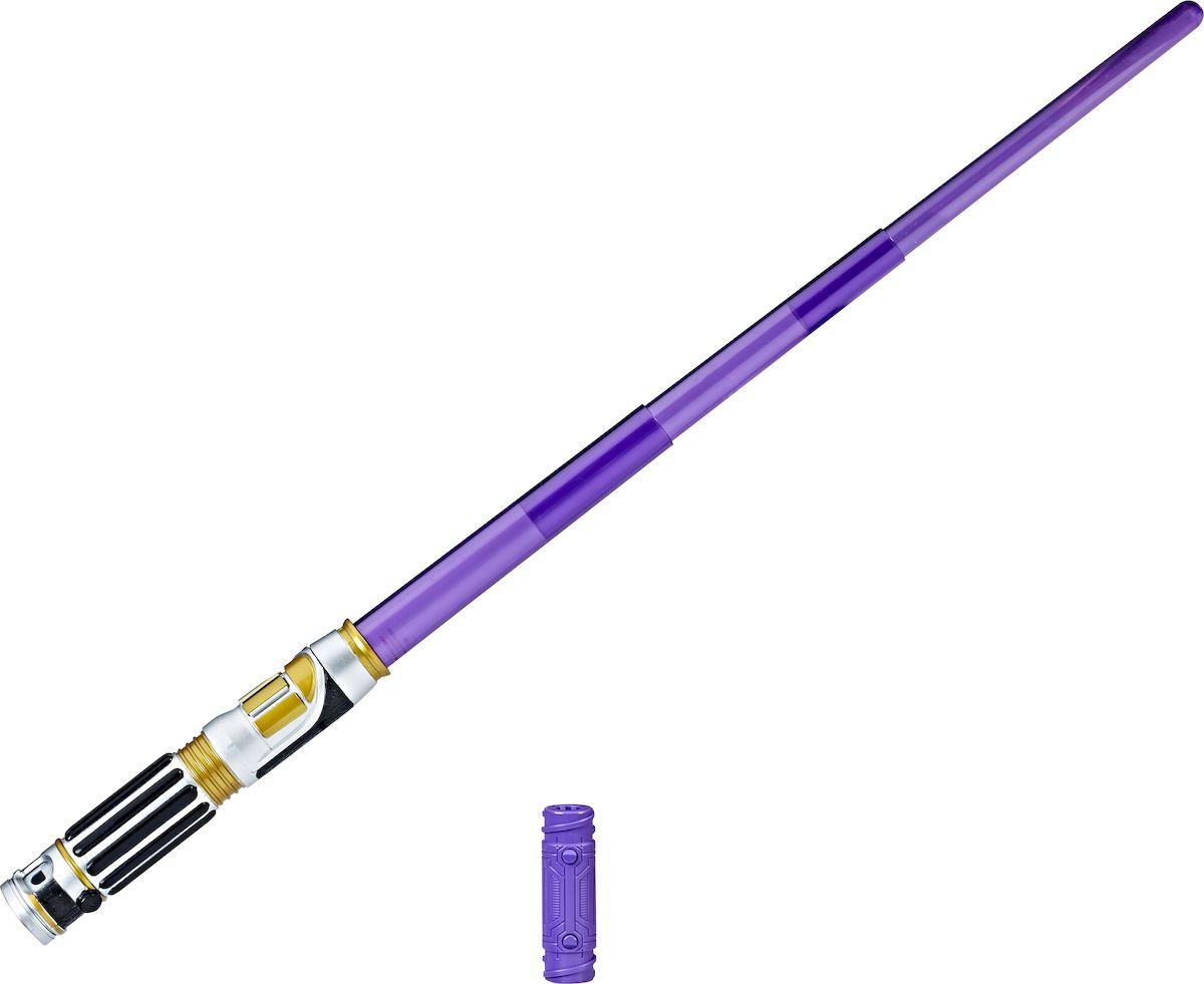 Star Wars Электронный световой меч Mace Windu световой меч hasbro