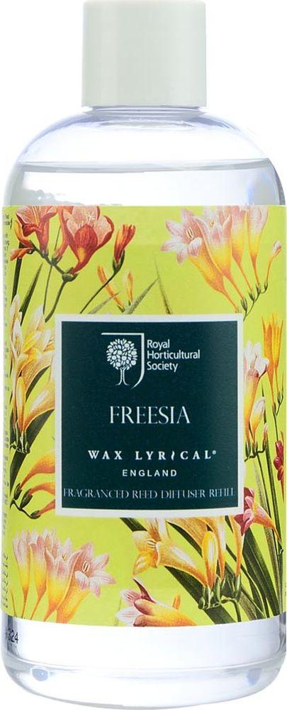 Наполнитель для ароматического диффузора Wax Lyrical Цветущая фрезияRH5512Цветочный аромат, сочетающий в себе ноты фрезии, гардении и орхидеи